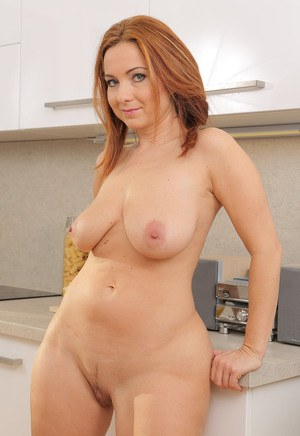 Simply excellent Naked mature wives in the kitchen exact