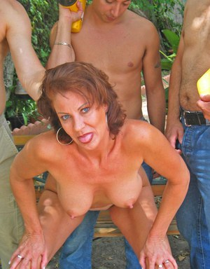 Good girl! mature gangbang jpg could find