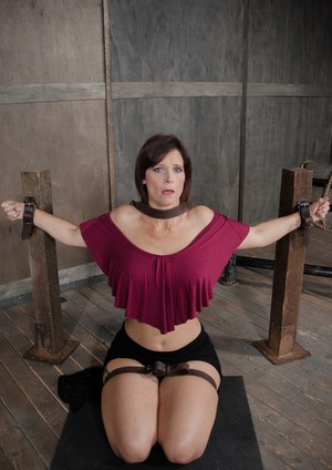 ASIAN Milf Chained Up And Ready